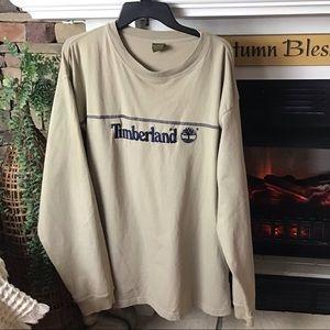 Timberland logo long sleeve tee shirt